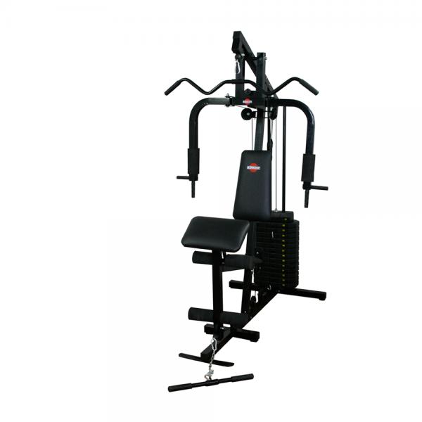 Estação de Musculação Emk com 100 Kg e Rosca Scott