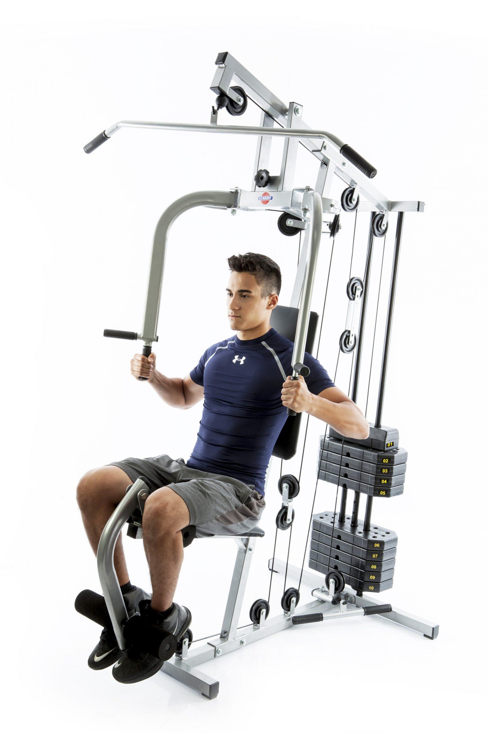 Estação De Musculação Emk2810 com 50kg